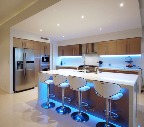 Flexible LED Strip Lights Types Of Lighting GreenergyYou - Led tube lights for kitchen ceiling